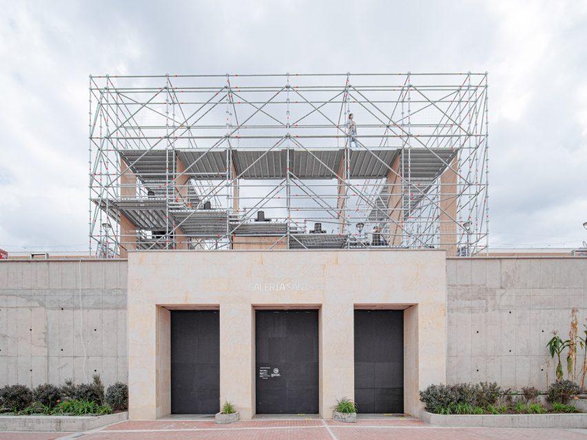 Exterior view of La Concordia: Amphitheatre by Colab-19
