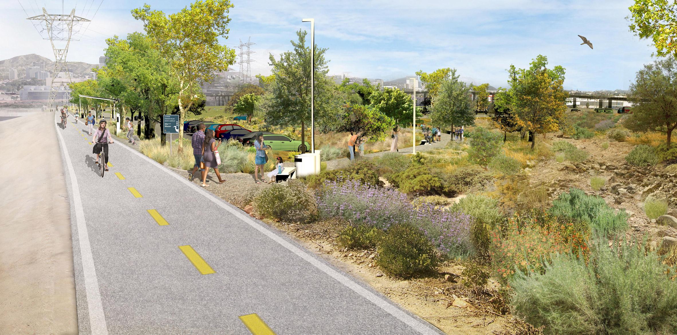 Green corridors planned for the LA River