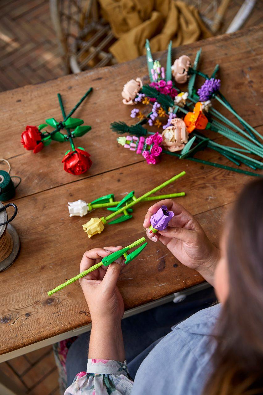 Flores de Lego