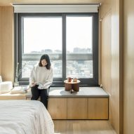 "Minimalist micro-apartments in Seoul form ""blank canvas for tenants"""