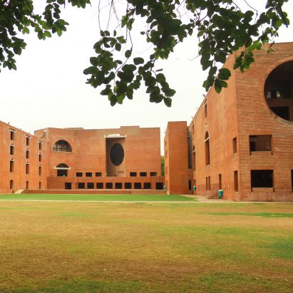 Louis Kahn dormitories in Ahmedabad