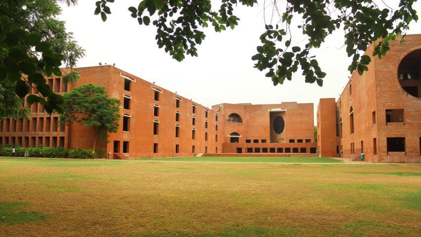 Louis Kahn dormitories in Ahmedabad