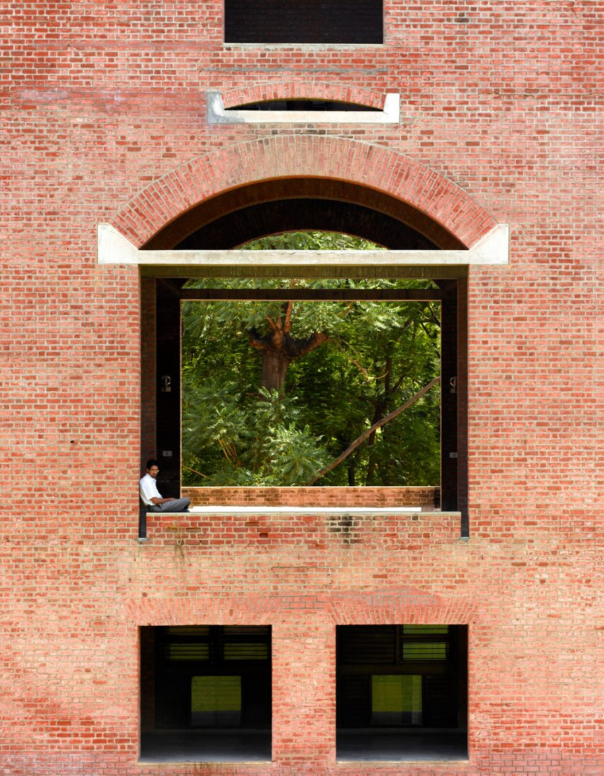 Indian Institute of Management Ahmedabad by architectLouis Kahn