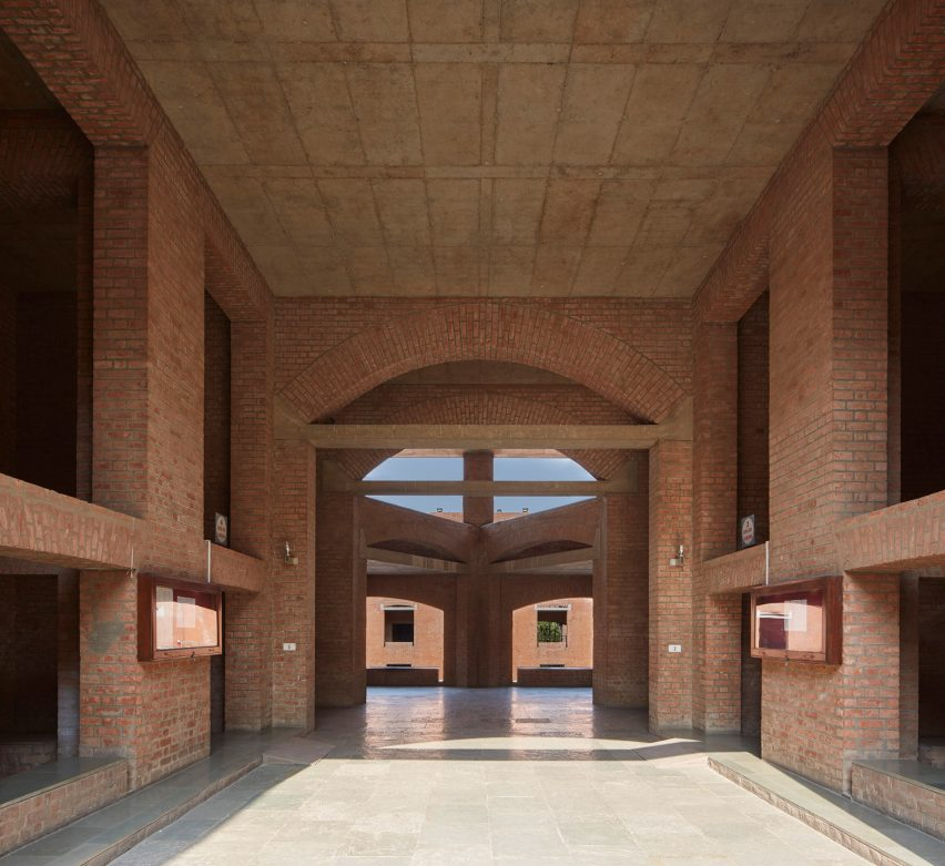 Indian Institute of Management Ahmedabad campus by Louis Kahn