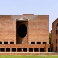 Edmund Sumner shares photos of Louis Kahn's IIMA including its recently saved dormitories