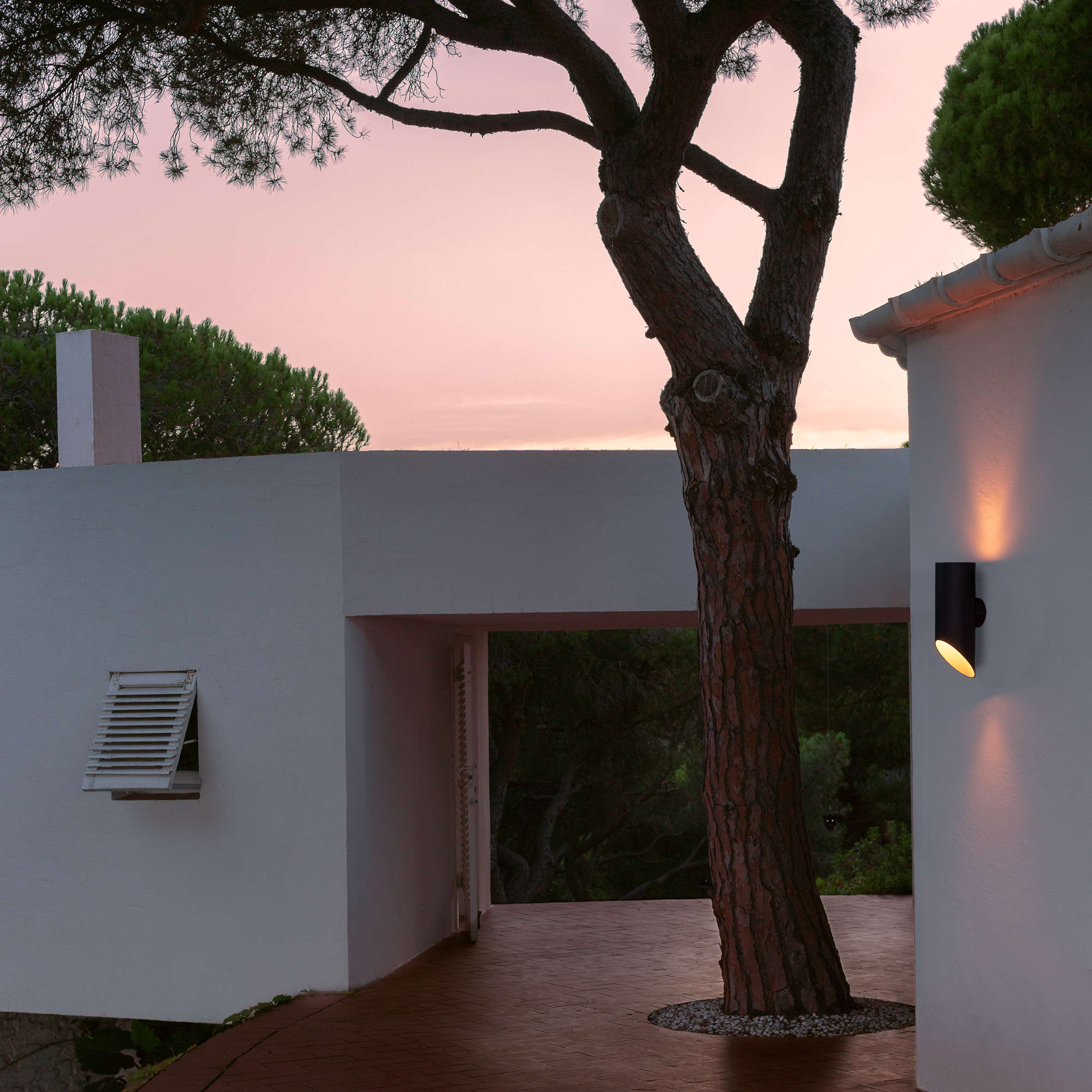 Elipse exterior wall light by by Josep Lluís Xuclà for Marset