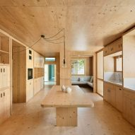Aixopluc completes cork and cross-laminated timber extension to traditional Catalan house