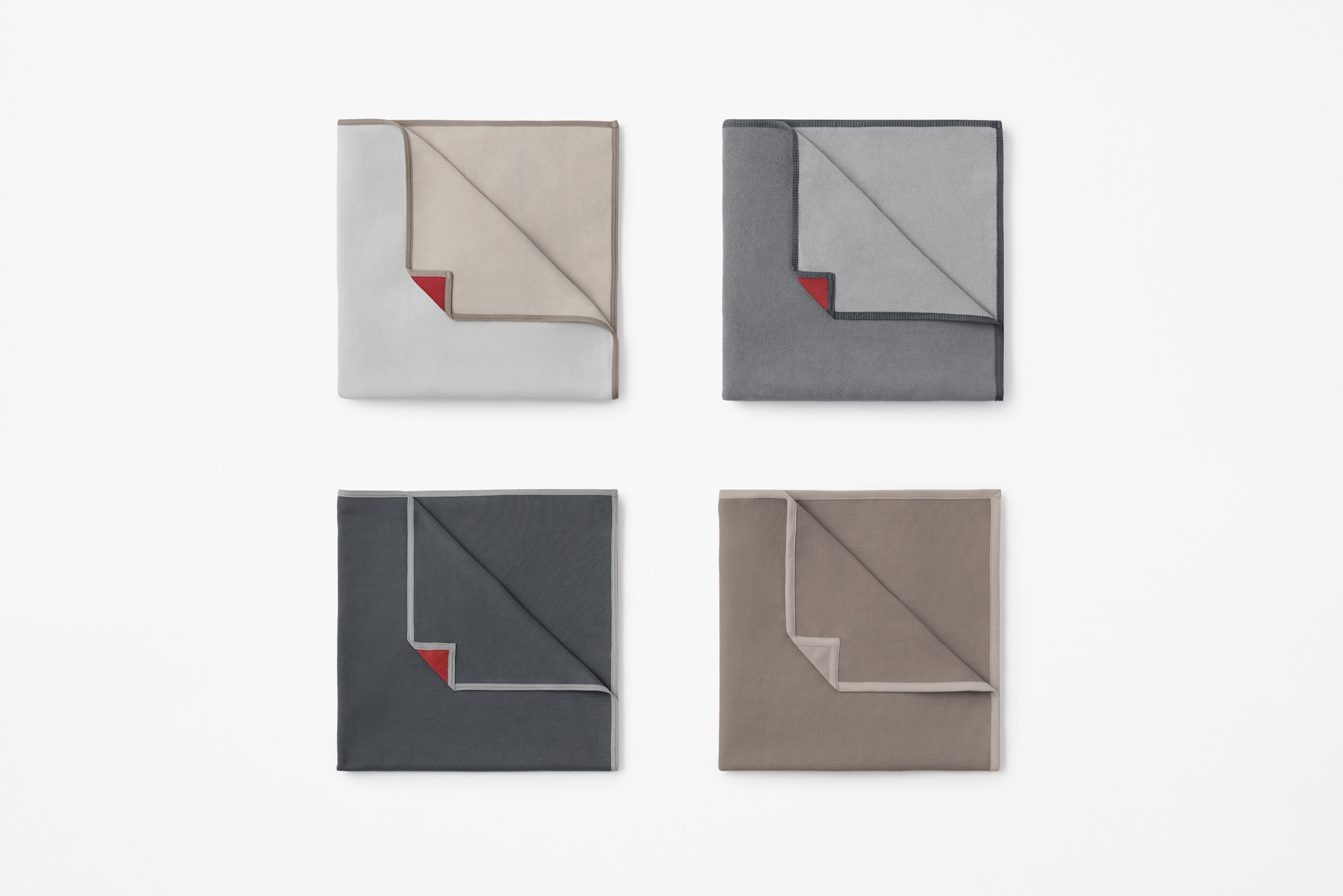 Blankets by Nendo for Japan Airlines