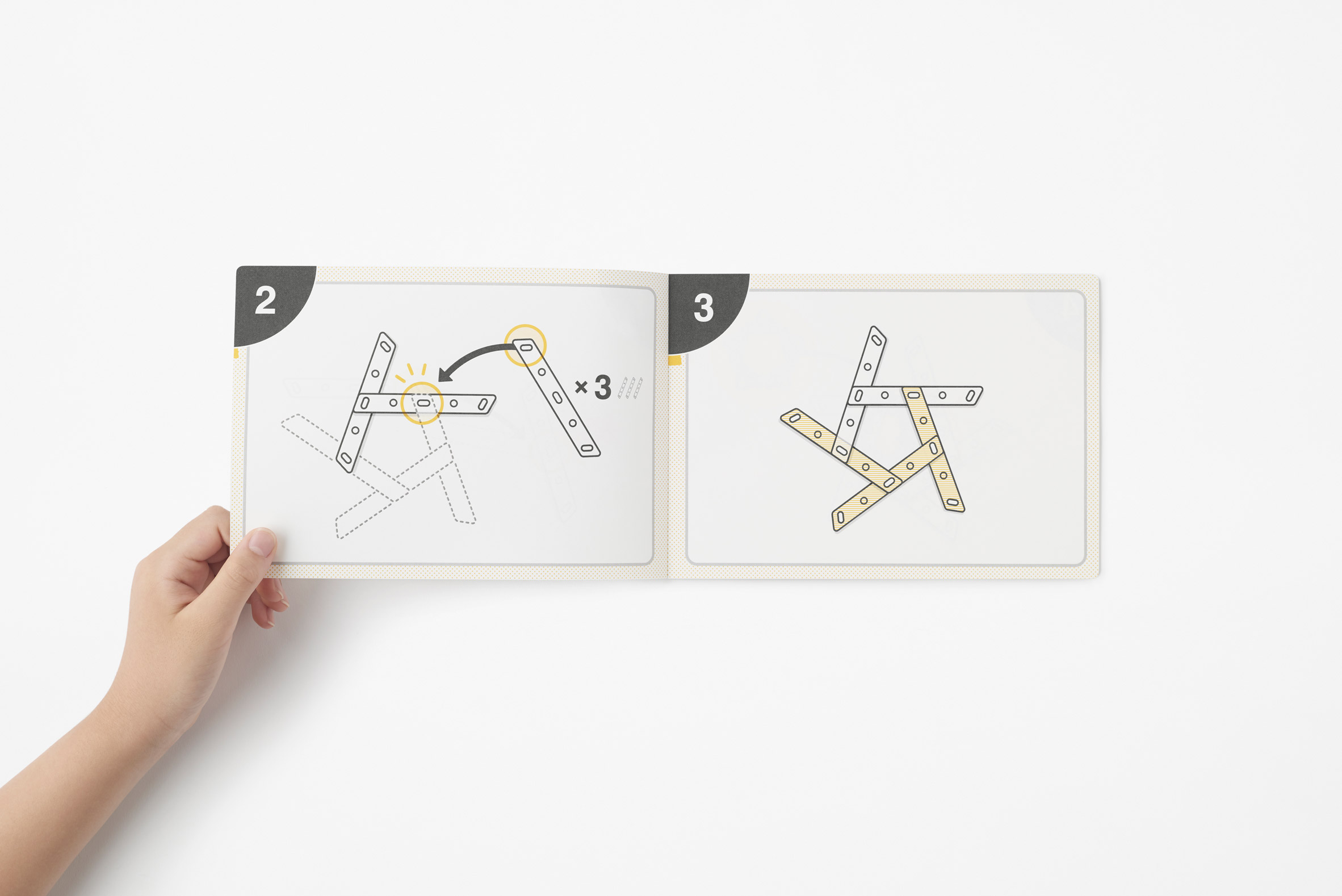 Instructions for the My Football Kit by Nendo for Molten
