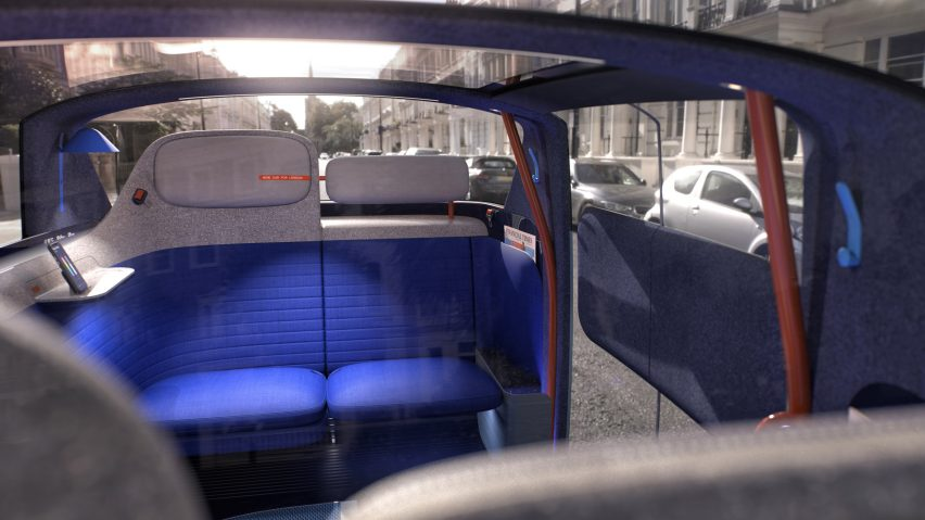 Interior of New Car for London by PriestmanGoode