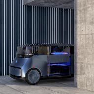 PriestmanGoode models autonomous taxi on London's brutalist architecture