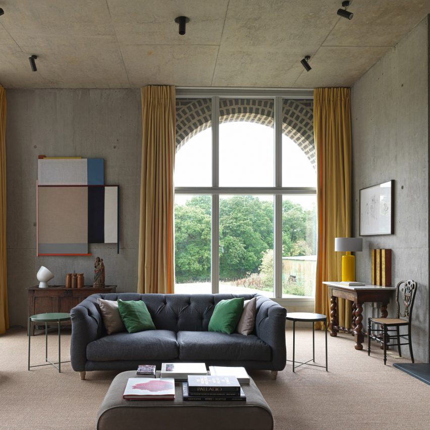 Ten contemporary living rooms with calm interiors
