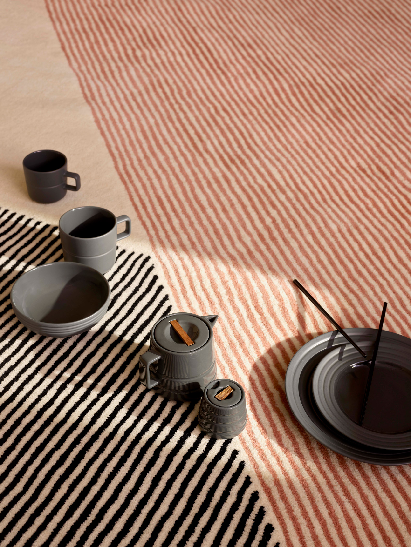 Stripes rugs collection by NJRD