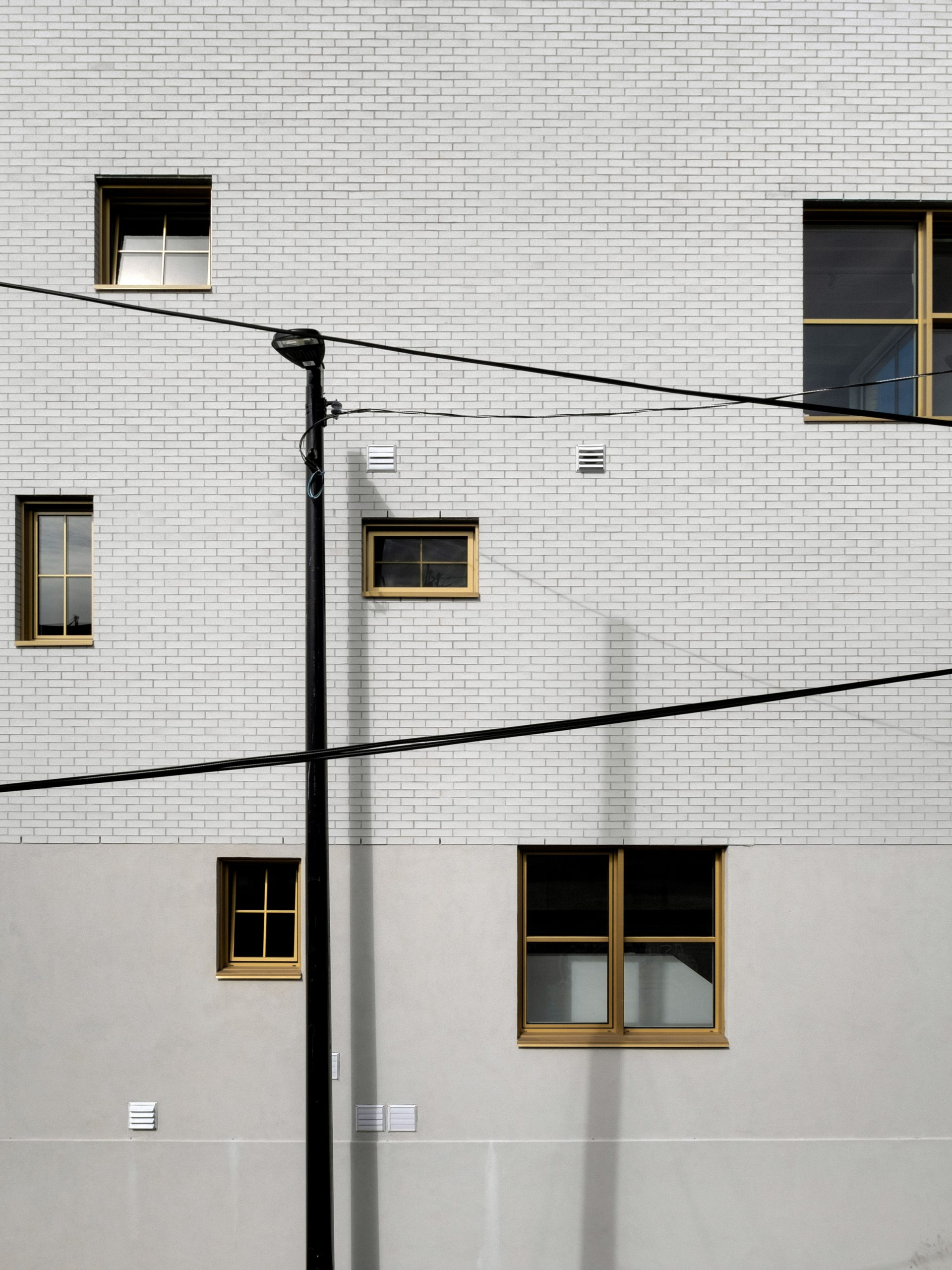 Windows of NMBDH by Jean Verville in Montreal