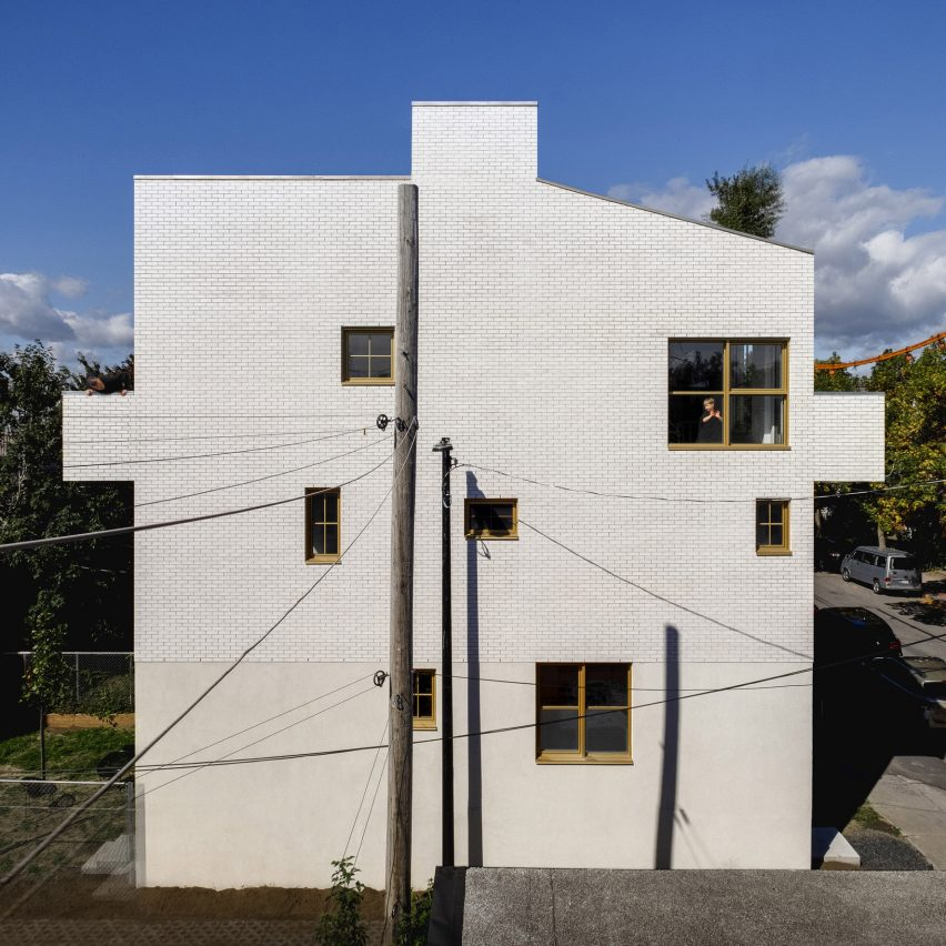 NMBDH triplex by Jean Verville in Montreal