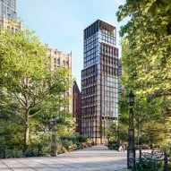 Rogers Stirk Harbour + Partners' No 33 Park Row nears completion in New York