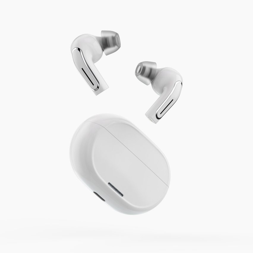 The Olive Pro earbuds and charging case by Olive Union