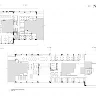 First floor plan of Paddington Works by Threefold Architects