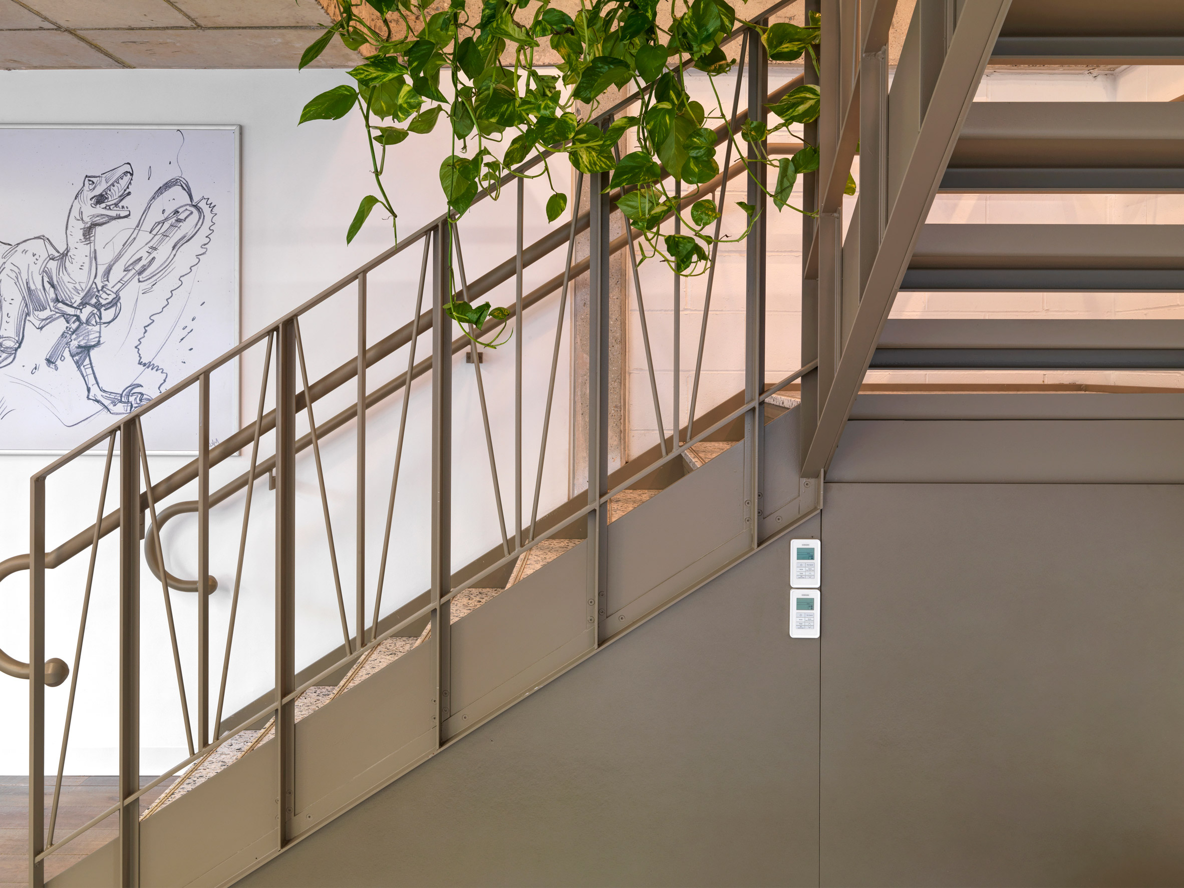 Steel details in Paddington Works by Threefold Architects