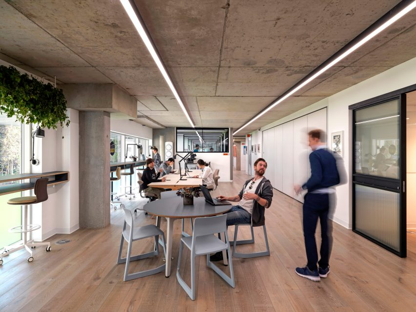 Clusters in Paddington Works by Threefold Architects