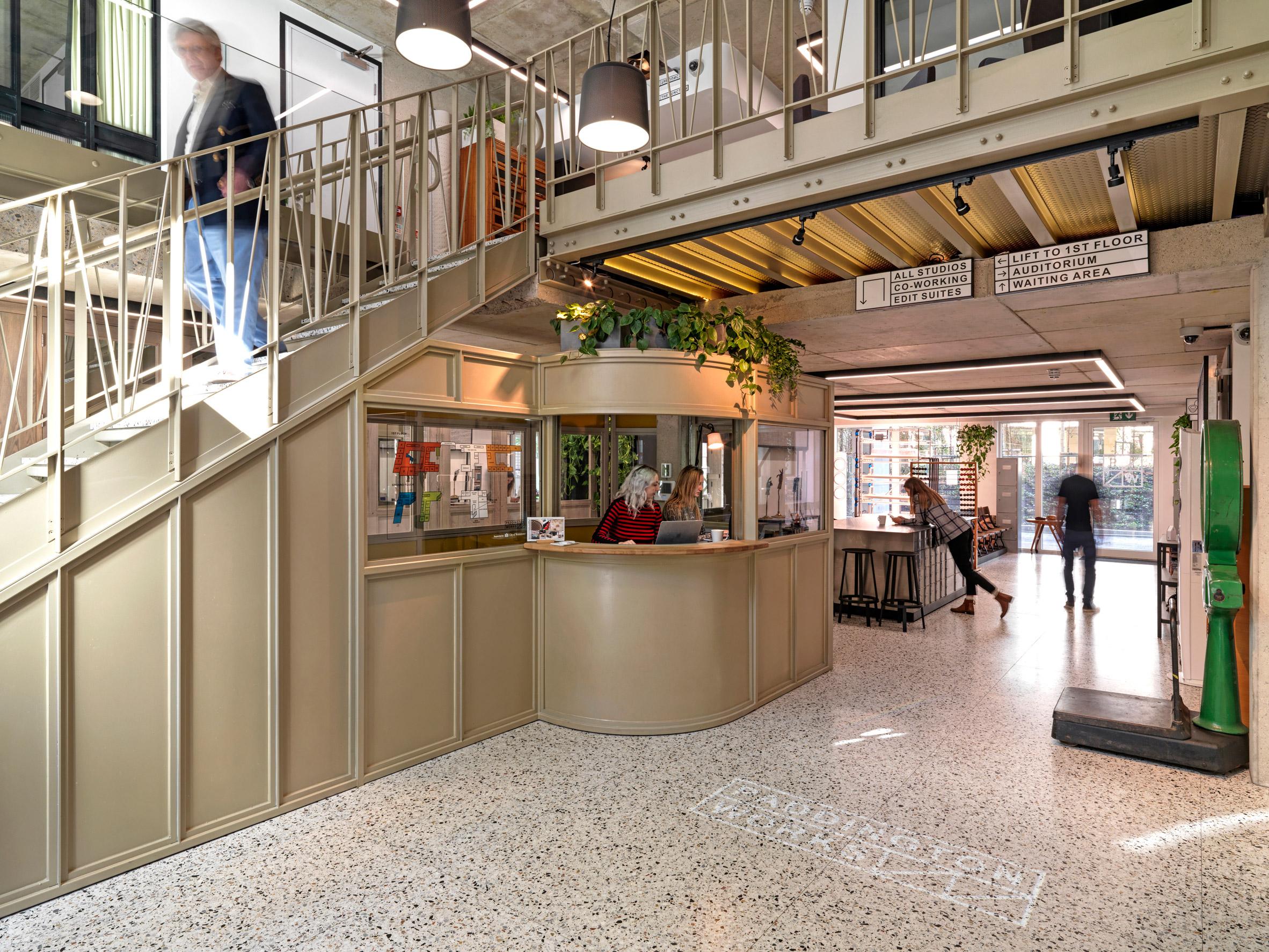 Entrance to Paddington Works by Threefold Architects