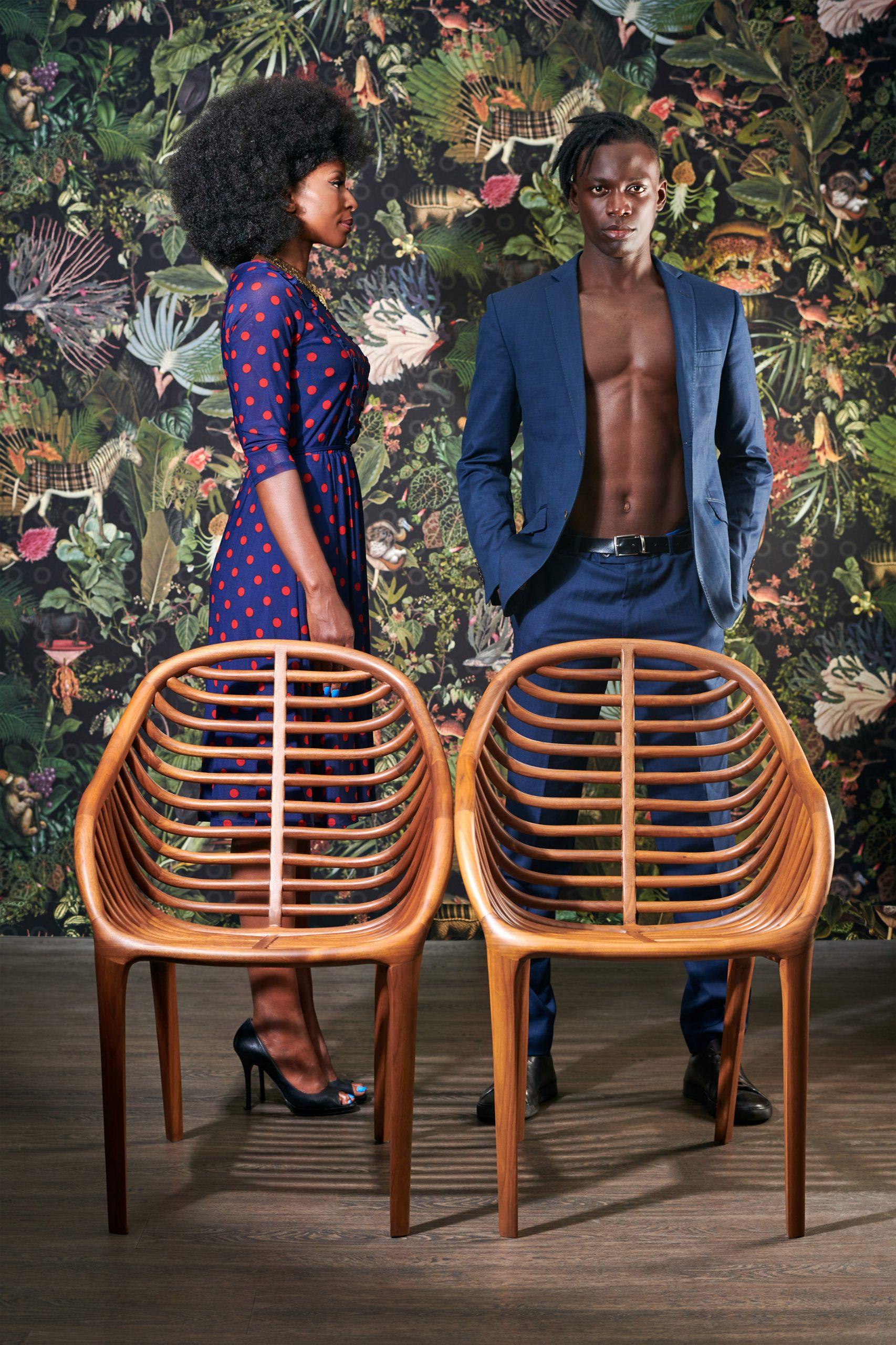 Pam chair for Meroni & Colzani