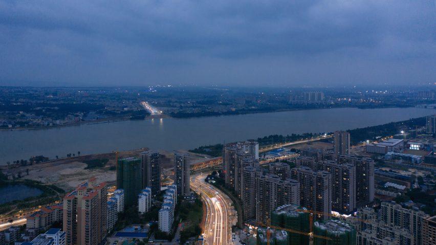 Haikou Wenming East Road Tunnel under Nandu River