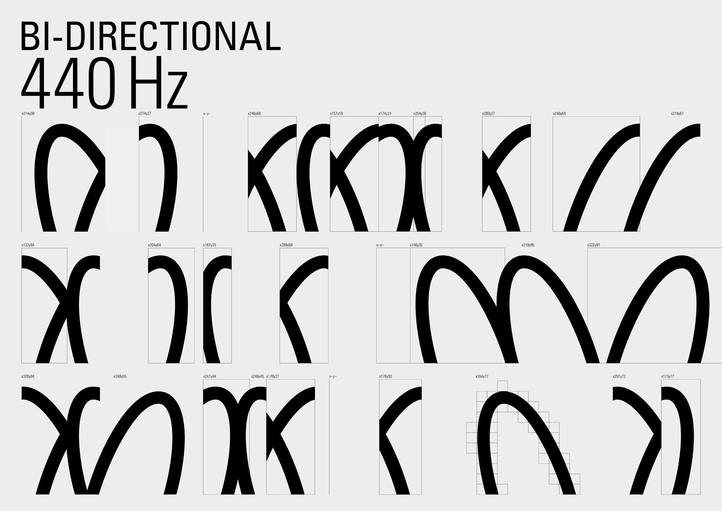 Visualising sound for MIDI logo by Pentagram