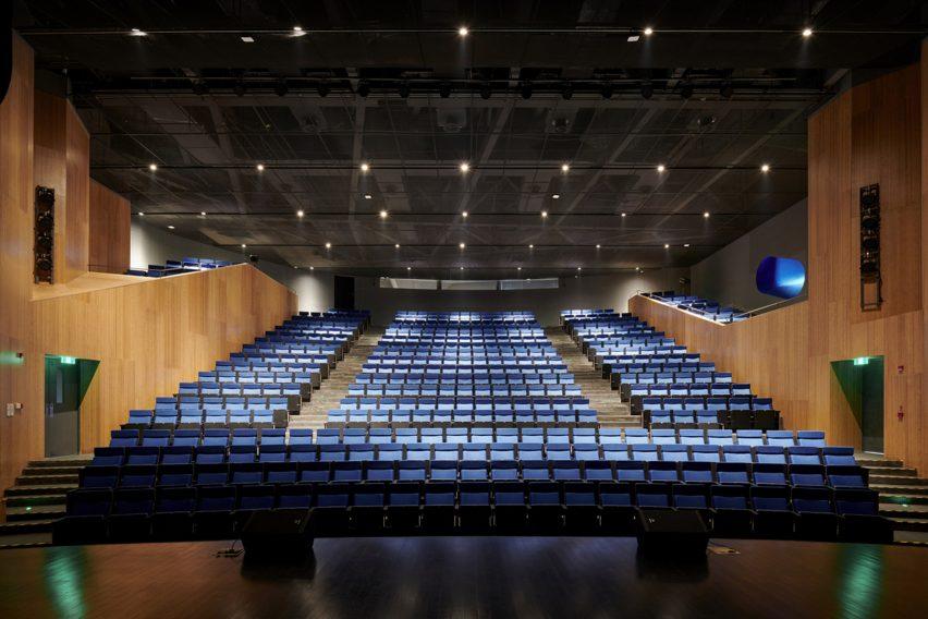 Proscenium theatre in Shanghai