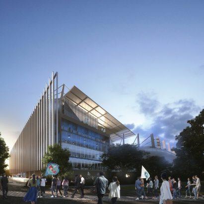 Stade de la Meinau in Strasbourg by Populous