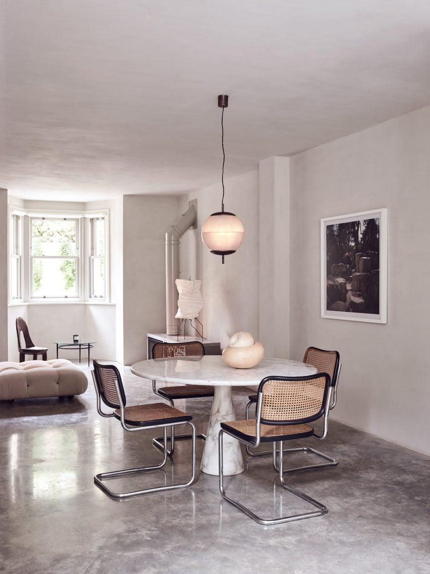 Japandi-style interior, London