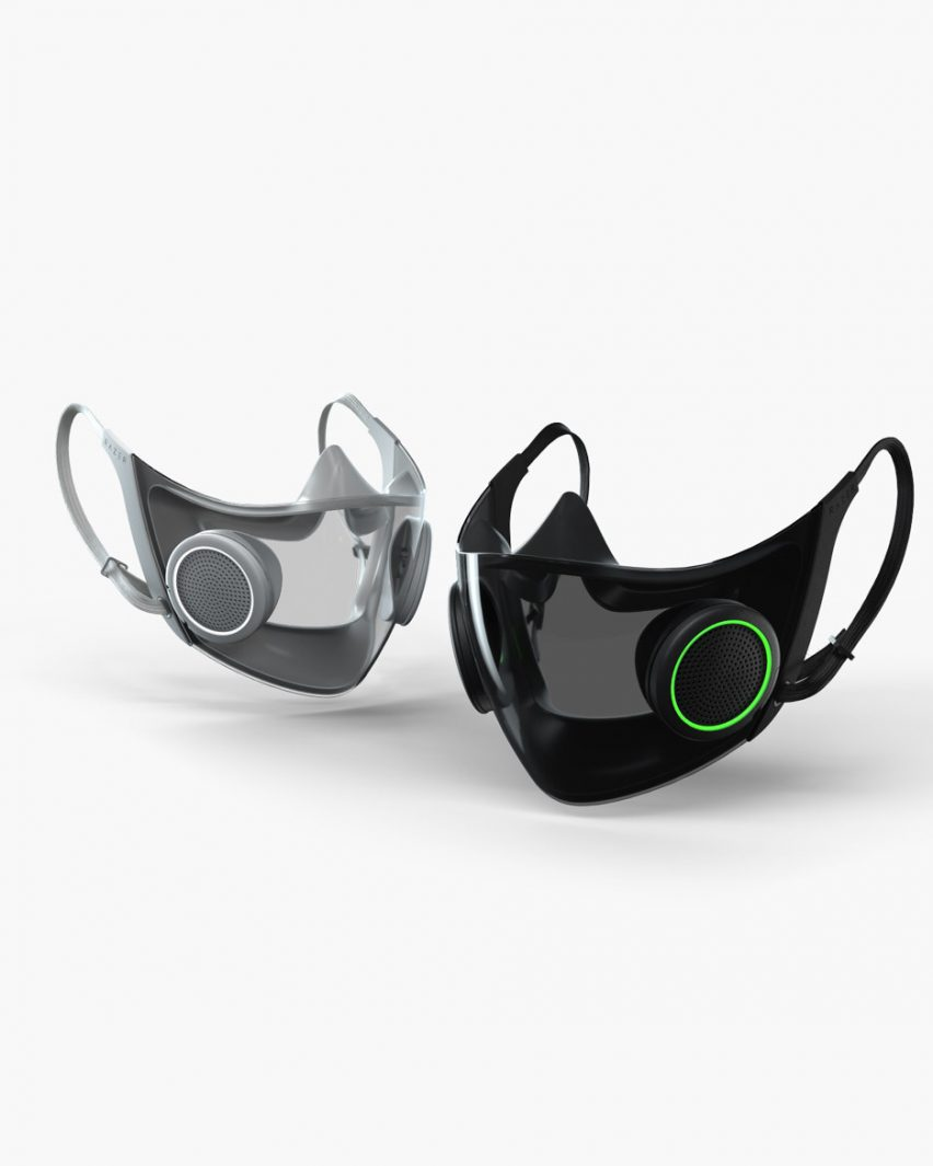 Project Hazel by Razer is smart face masks