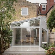 The Quarter Glass House extension by Proctor & Shaw