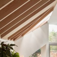 An exposed timber roof by Proctor & Shaw