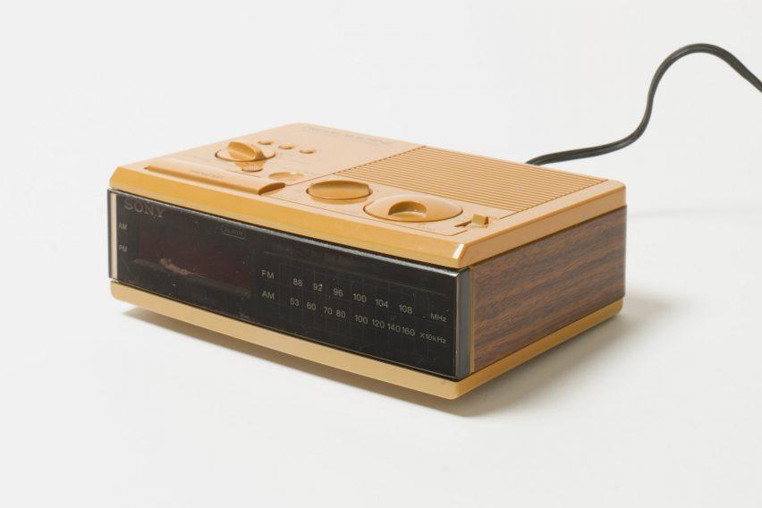 Clock radio at R for Repair exhibition in Singapore