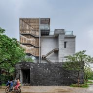 O-office Architects transforms abandoned factory buildings into Chinese tea museum