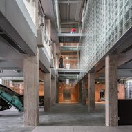 Inside the (Re)forming Duichuan Tea Yards centre by O-office Architects