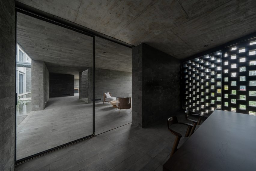 Inside the centre by O-office Architects