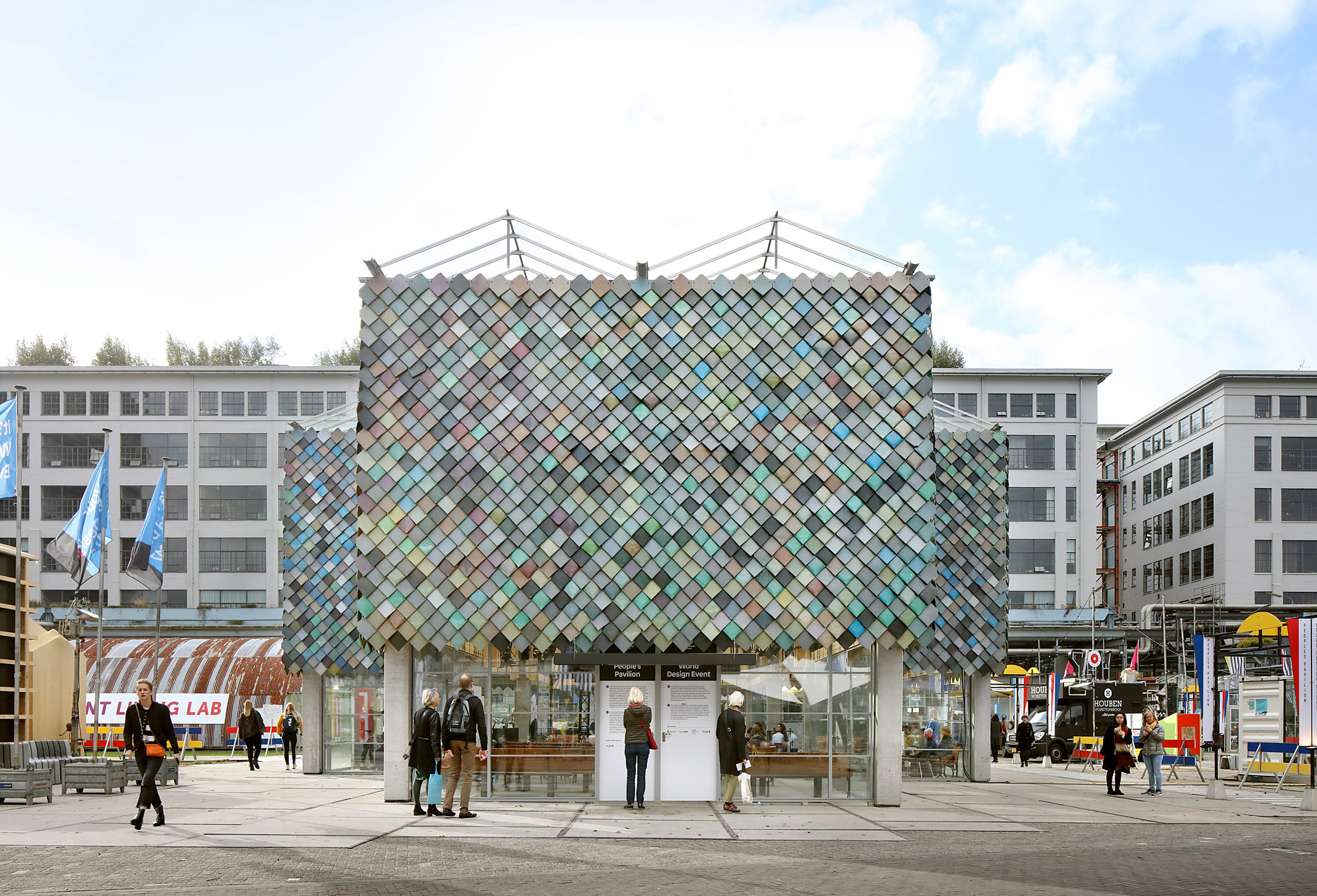 People's Pavilion by Overtreders W and Bureau SLA