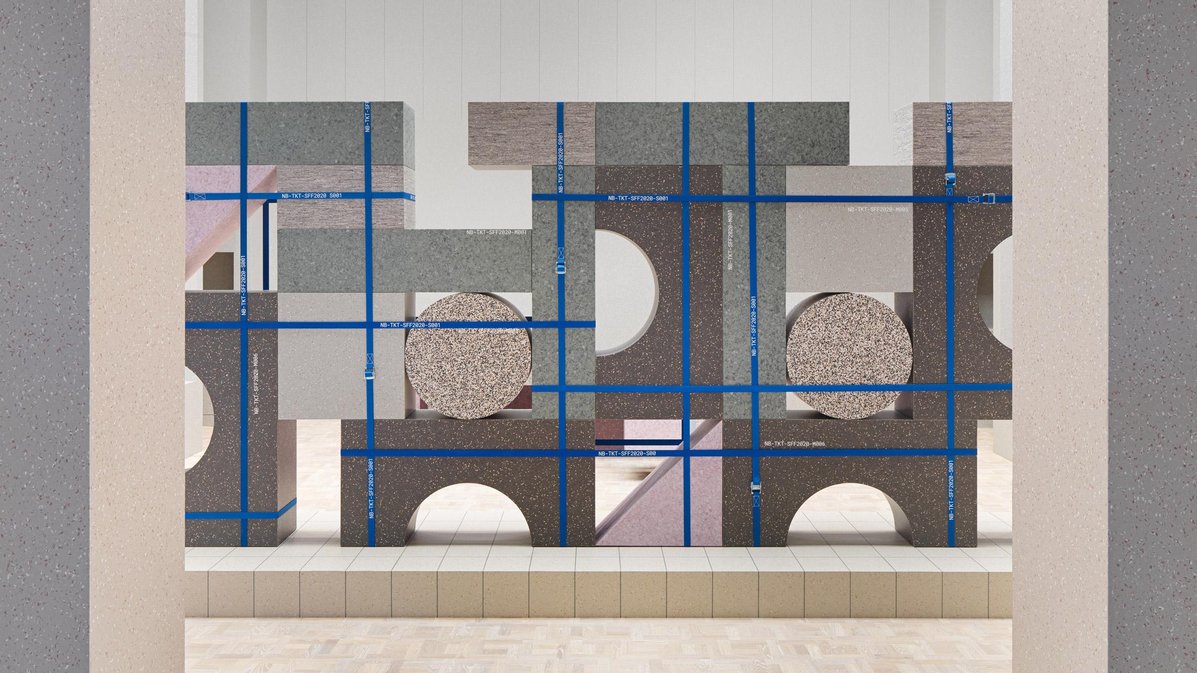 Tarkett exhibition stand by Note Design Studio