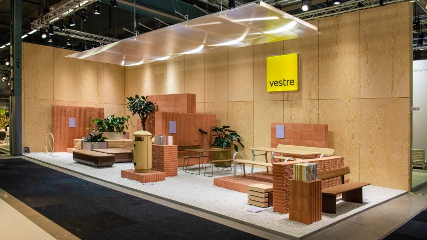 Vestre exhibition stand by Note Design Studio
