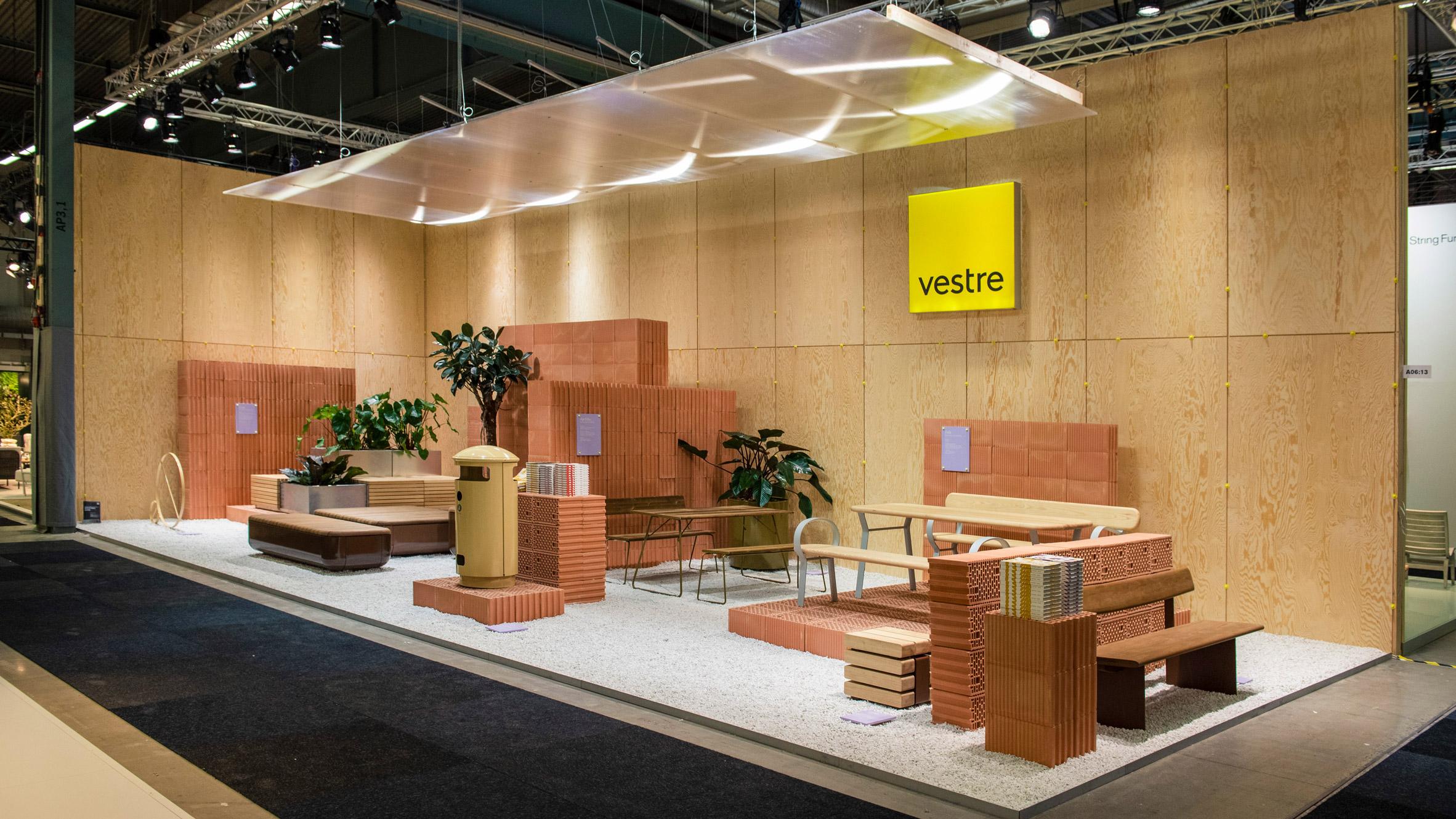 Vestre exhibition stand by Note Design Studio