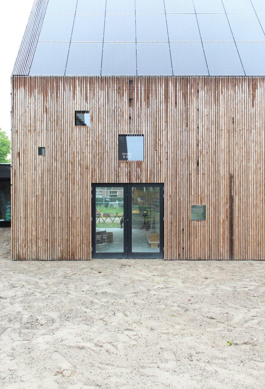 Rear of Rhythm House by Julius Taminiau Architects