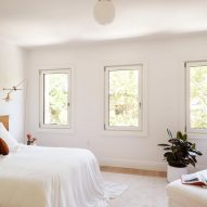 The Brooklyn Home Company Sackett Street Passivhaus townhouse bedroom three windows