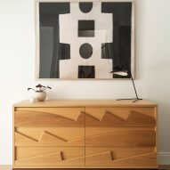 The Brooklyn Home Company Sackett Street Passivhaus townhouse hand-crafted dresser by Fitzhugh Karol
