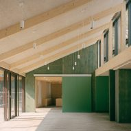 Mae Architects uses circular design principles to build Sands End community centre