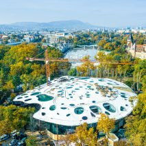 Sou Fujimoto's House of Hungarian Music nearing completion in Budapest