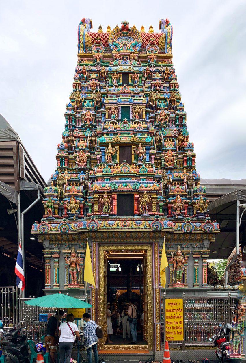 Exterior of Sri Mariamman Temple