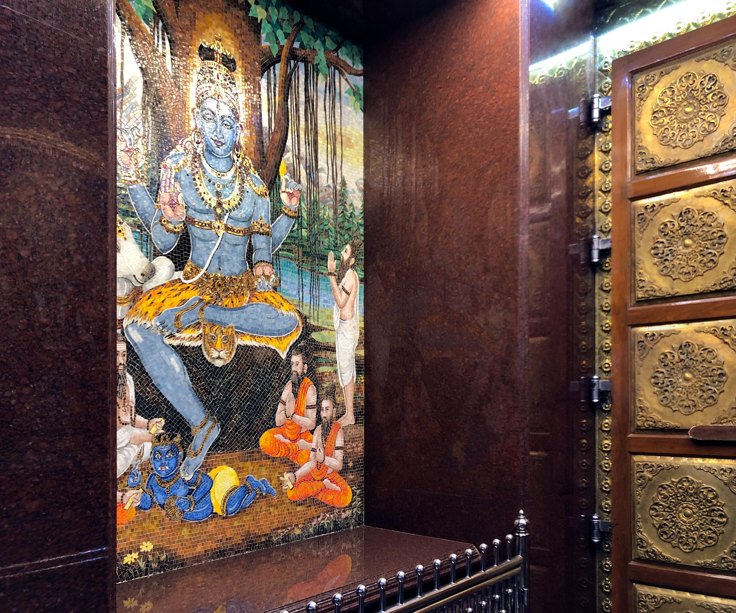 Entrance to Sri Mariamman Temple