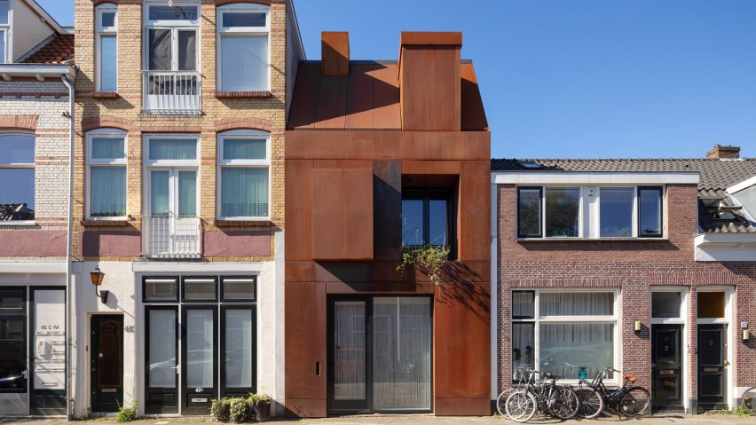Steel Craft House by Zecc Architecten